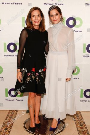 Allison Williams, Jane Williams. Allison Williams, left, and Jane Williams, right, attend the 100 Women in Finance (100WF) and Horizons National host joint fundraising gala at Cipriani 42nd Street, in New York