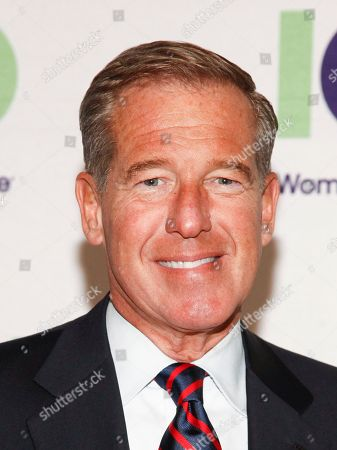 Brian Williams attends the 100 Women in Finance (100WF) and Horizons National host joint fundraising gala at Cipriani 42nd Street, in New York