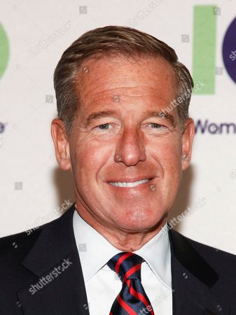 Brian Williams attends the 100 Women in Finance's New York Gala Benefiting Horizons National at Cipriani 42nd Street, in New York
