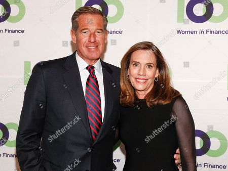 Brian Williams, Jane Williams. Brian Williams, left, and Jane Williams attend the 100 Women in Finance's New York Gala Benefiting Horizons National at Cipriani 42nd Street, in New York