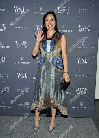 Fabiola Beracasa attends the WSJ Magazine 2018 Innovator Awards at the Museum of Modern Art, in New York