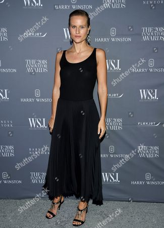 Olympia Scarry attends the WSJ Magazine 2018 Innovator Awards at the Museum of Modern Art, in New York