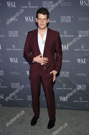 Wes Gordon attends the WSJ Magazine 2018 Innovator Awards at the Museum of Modern Art, in New York