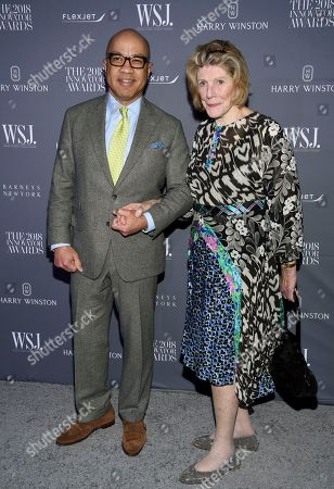 Darren Walker, Agnes Gund. Darren Walker, left, and Agnes Gund attend the WSJ Magazine 2018 Innovator Awards at the Museum of Modern Art, in New York