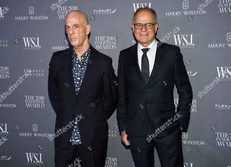 Editorial photo of WSJ Magazine 2018 Innovator Awards, New York, USA - 07 Nov 2018