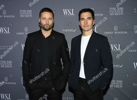 Jack McCollough, Lazaro Hernandez. Designers Jack McCollough, left, and Lazaro Hernandez attend the WSJ Magazine 2018 Innovator Awards at the Museum of Modern Art, in New York
