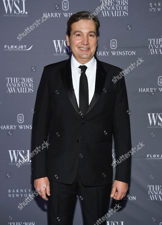 Stock Picture of WSJ Magazine publisher Anthony Cenname attends the WSJ Magazine 2018 Innovator Awards at the Museum of Modern Art, in New York