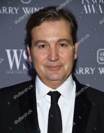 WSJ Magazine publisher Anthony Cenname attends the WSJ Magazine 2018 Innovator Awards at the Museum of Modern Art, in New York