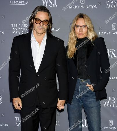 Mario Sorrenti, Mary Sorrenti. Mario Sorrenti and Mary Sorrenti attend the WSJ Magazine 2018 Innovator Awards at the Museum of Modern Art, in New York