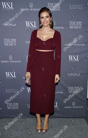 Editorial image of WSJ Magazine 2018 Innovator Awards, New York, USA - 07 Nov 2018