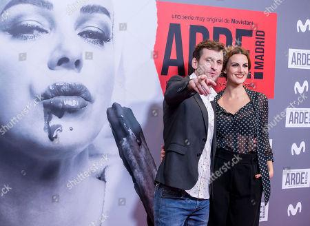 Editorial image of 'Arde Madrid' film premiere, Madrid, Spain - 07 Nov 2018