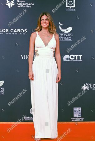 Stephanie Cayo attends the Los Cabos International Film Festival in Los Cabos, Baja California Sur, Mexico, 07 November 2018. The festival takes place from 07 to 11 November 2018.