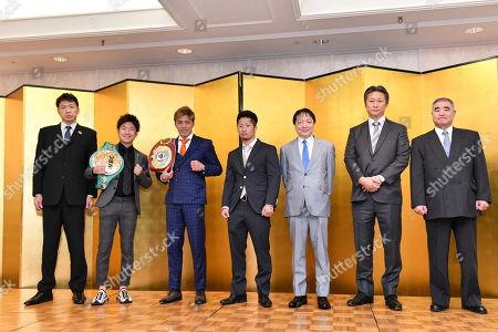(L-R) B.M.BHisashi Teraji, Ken Shiro, Masayuki Ito, Takuma Inoue, Hideyuki Ohashi, Taro Dan, Tsuyoshi Hamada
