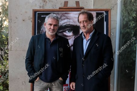 Stock Photo of Director Stephane Brize with actor Vincent Lindon