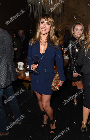 Kelly Dodd attends the 2018 Napa Valley Film Festival Opening Night VIP Party held at Italics Winegrowers, Napa, California, USA - 7 Nov 2018