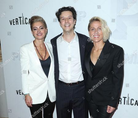 Victoria Bousis, Alexis Varouxakis and Christine Crokos