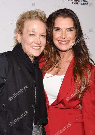 Nancy Jarecki and Brooke Shields