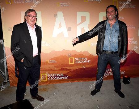 Editorial image of National Geographic 'Mars' TV show Season 2 reception and screening, Los Angeles, USA - 07 Nov 2018