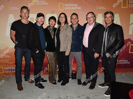 Stock Picture of Jeff Hephner, Ron Howard, Jihae, Dee Johnson, Justin Wilkes, Dr. Stephen Petranek, Esai Morales