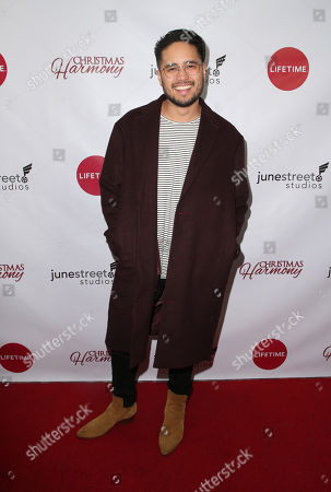 Editorial image of 'Christmas Harmony' film premiere, Los Angeles, USA - 07 Nov 2018