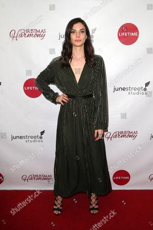 Editorial picture of 'Christmas Harmony' film premiere, Los Angeles, USA - 07 Nov 2018