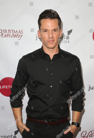 Editorial photo of 'Christmas Harmony' film premiere, Los Angeles, USA - 07 Nov 2018