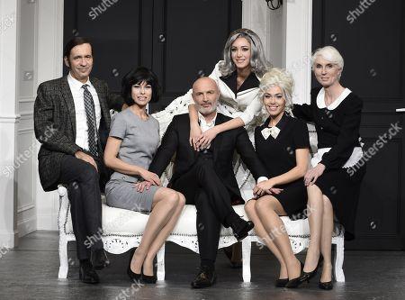 Frank Leboeuf , Thierry Samitier, Veronique Demonge, Caroline Ami, Cindy Cayrasso, Marinelly Vaslon