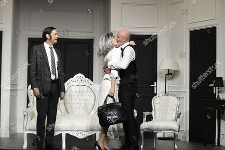 Thierry Samitier, Caroline Ami, Frank Leboeuf
