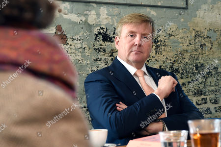 King Willem-Alexander visit to Stichting JobHulp, Culemborg