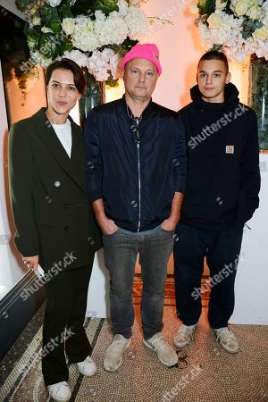 Juergen Teller and guests