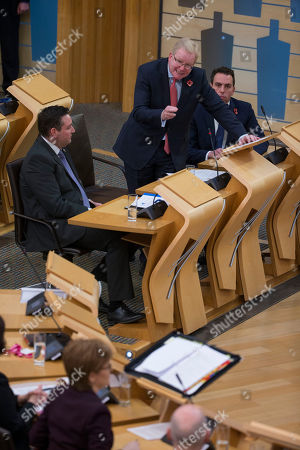 Editorial picture of Scottish Parliament First Minister's Questions, The Scottish Parliament, Edinburgh, Scotland, UK - 8th November 2018
