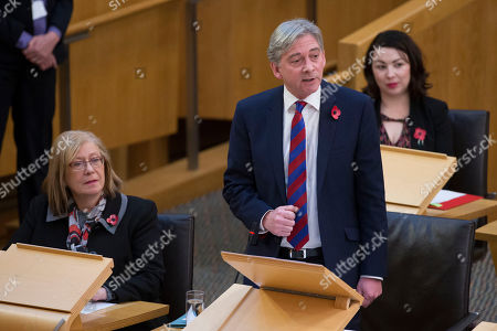Scottish Parliament First Minister's Questions - Claudia Beamish, Richard Leonard, Leader of the Scottish Labour Party, and Monica Lennon