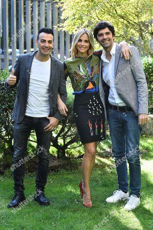 Gigi and Ross with Francesca Fialdini