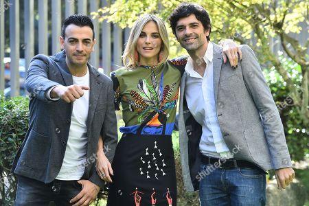 Stock Photo of Gigi and Ross with Francesca Fialdini