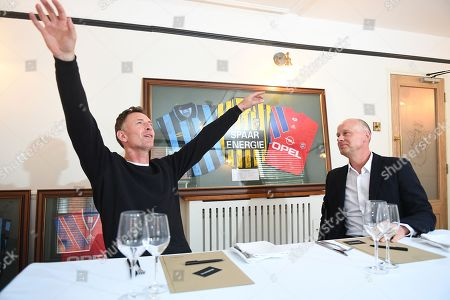 Jeremy Goss and Chris Sutton have reunited to relive the incredible night 25 years ago this month when Norwich City stunned Europe by slaying Bayern Munich in the UEFA Cup