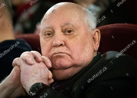 Editorial picture of Russia Gorbachev, Moscow, Russian Federation - 08 Nov 2018