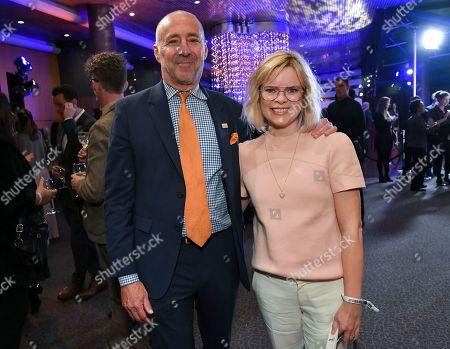 Stock Image of Bob Beitcher and Kara Holden