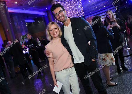 Kara Holden and Justin Baldoni