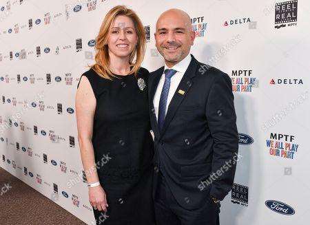 Melina Esrailian and Dr. Eric Esrailian