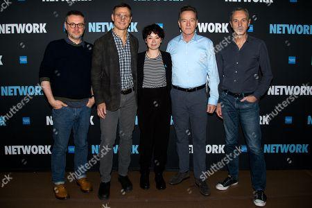 Lee Hall, Tony Goldwyn, Tatiana Maslany, Bryan Cranston and Ivo van Hove