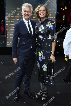 Stock Image of Dominic Raacke and Alexandra Rohleder