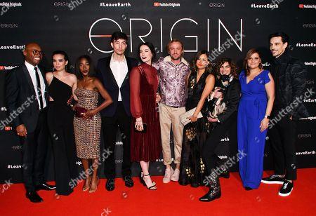 Editorial image of 'Origin' TV show premiere, Arrivals, London, UK - 08 Nov 2018