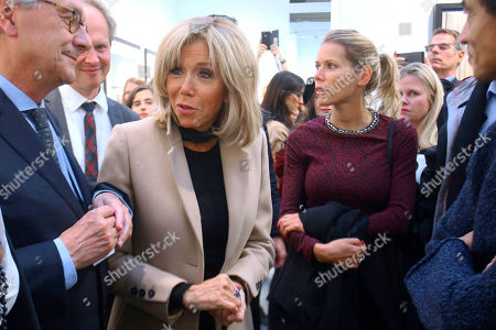 Editorial image of Brigitte Macron visits Paris Photo, France - 08 Nov 2018
