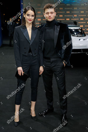 Stock Picture of Luise Befort, Damian Hardung