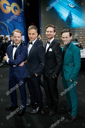 Editorial image of GQ Men of the Year Awards, Berlin, Germany - 08 Nov 2018