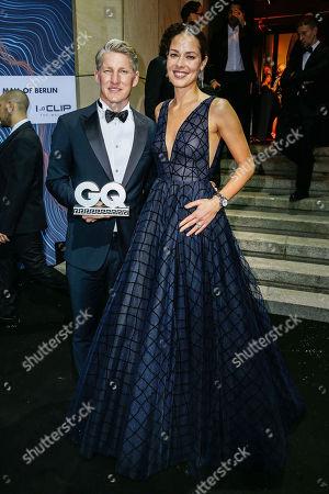 Bastian Schweinsteiger and wife Ana Schweinsteiger-Ivanovic