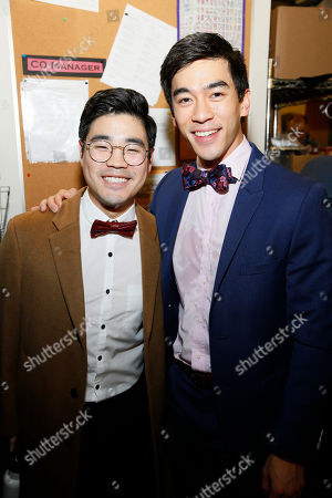 Stock Picture of Scott Keiji Takeda and Justin Chien