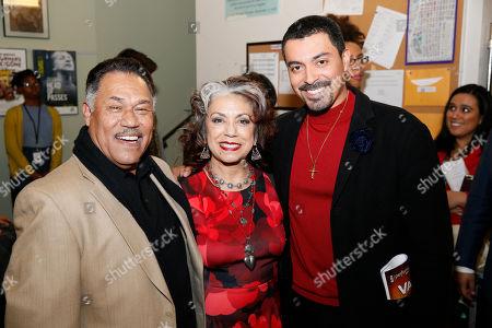 Daniel Valdez, Rose Portillo and Matias Ponce