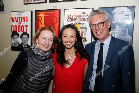 Kate Burton, Joy Osmanski and Michael Ritchie