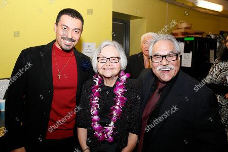Matias Ponce, Lupe Valdez and Luis Valdez